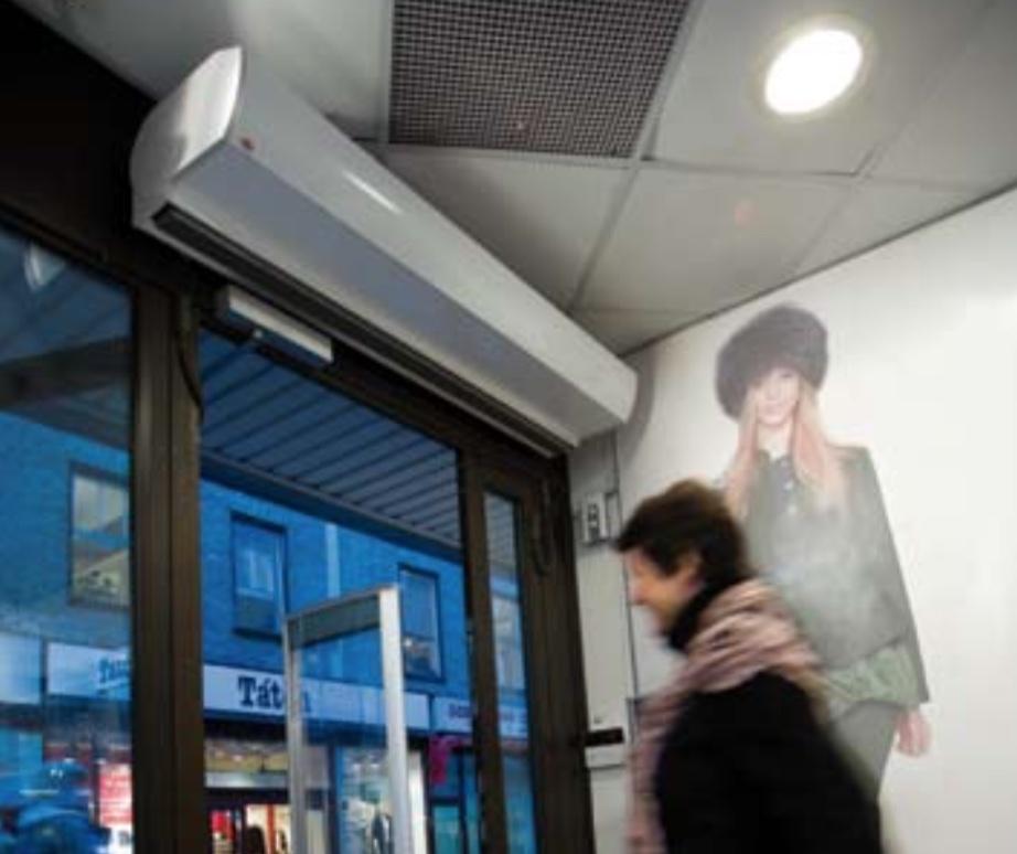 Air curtain image